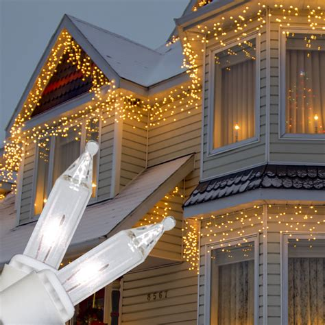 New Christmas Clear Lights For Home Improvement Codeknows