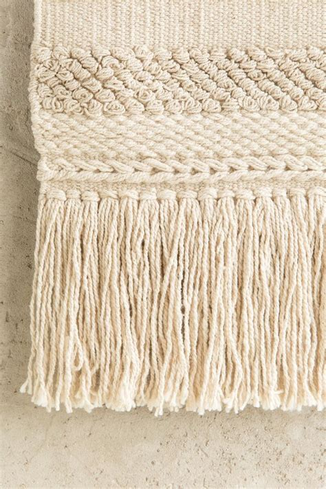 Then you'll love this cheap wall decoration idea for your bedroom or living room. Natural Cotton Hanging Wall Décor | francesca's