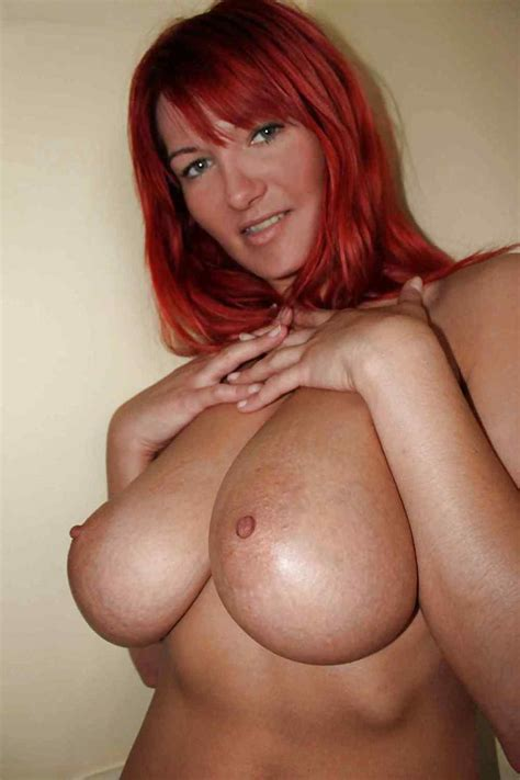 Red Head MILF With Big Tits And Ass By DarKKo Pics