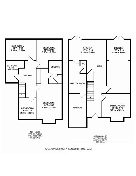 image result  semi detached house extension floor plan house floor plans kitchen layout