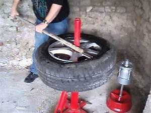 Changer Un Seul Pneu : d monte pneu manuel manual tire changer vid o 1 youtube ~ Gottalentnigeria.com Avis de Voitures
