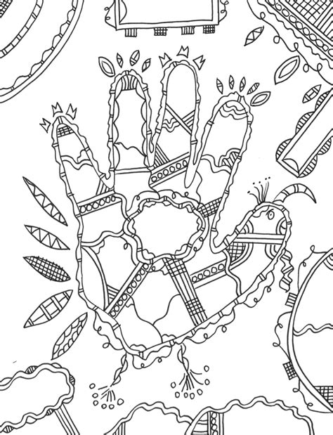 Coloring Templates For by Thanksgiving Praying In Color