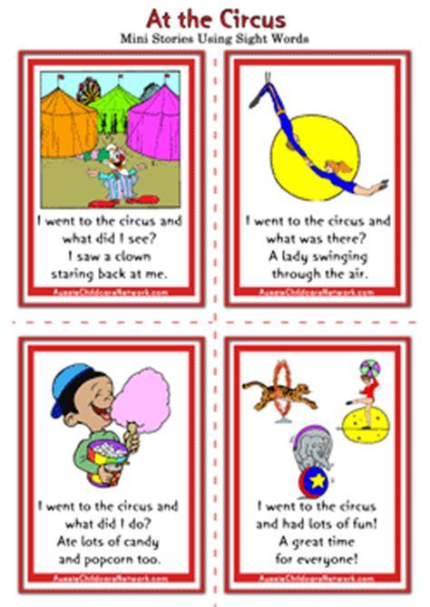 sight words mini stories aussie childcare network