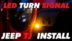 Led Turn Signal Jeep Tj Metalcloak Install
