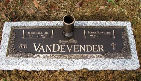 bronze markers on granite bases from davidson marble granite