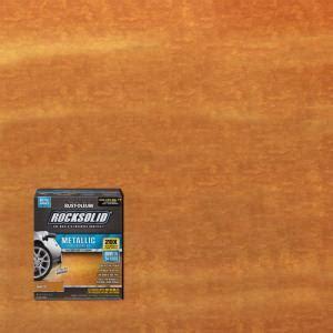 Rust Oleum RockSolid 70 oz. Amaretto Metallic Garage Floor