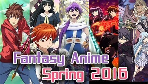 Anime Comedy Fantasy 2016 Spring 2016 Fantasy Anime Monsters The Supernatural