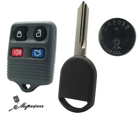 New Gray Ford Mercury Replacement Keyless Entry Remote