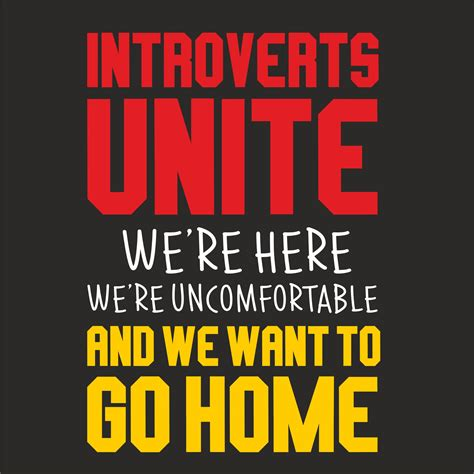 INTROVERTS UNITE T-SHIRT - GeekyTees