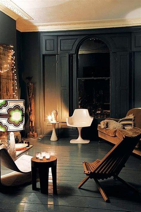 amazing dark moody living room decor ideas