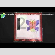 Diy  How To Make Number Flash Cards Youtube