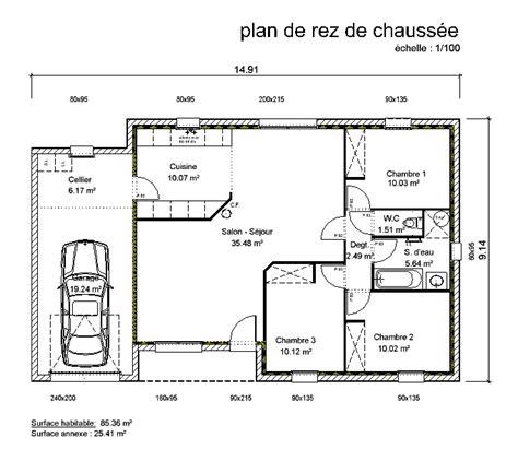 plan de maison 5 chambres plain pied gratuit plan maison en v plain pied gratuit xo83 jornalagora