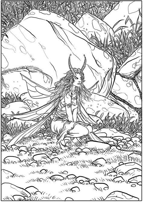 fairies  color images  pinterest coloring