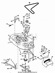 Poulan Pp125h42ja Tractor Parts Diagram For Mower Deck 42 U0026quot