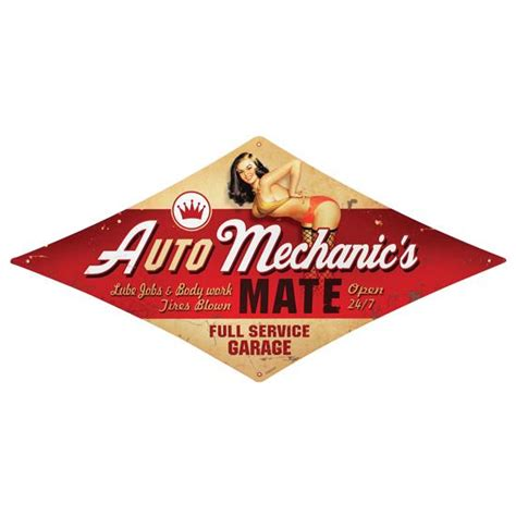 Auto Mechanic Vintage Metal Sign. Cartoon Girl Signs. Personal Posters Online. Aws Banners. Christmas Labels. Bright Silver Stickers. Raider 150 Stickers. Biology Lettering. Tobbaco Logo