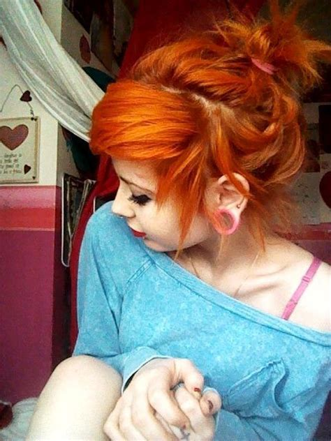 hair styles for 60 best orange you happy images on colourful 3058