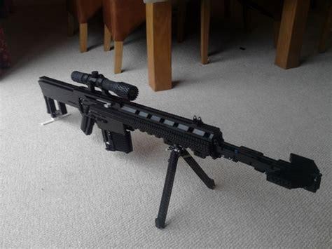 Bmg Models Reputation by Barrett M82a1 50 Cal Bolt Sniper Rifle A Lego
