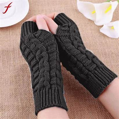 Gloves Guantes Dedos Sin Winter Arm Warm