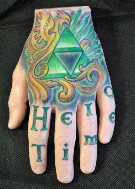 fake skin practice tattoo hand  zelda tats  sale