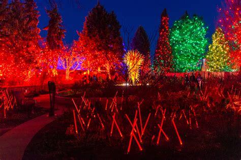 Denver Botanic Gardens Lights by Blossoms Of Light Denver Botanic Gardens