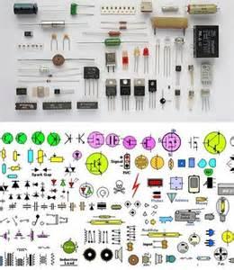 Basic Electronic Components Symbols
