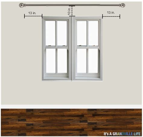 how to hang a drapery rod best 25 how to hang curtains ideas on window