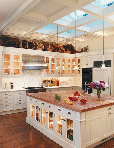 kitchen islands lighting 25 captivating ideas for kitchens with skylights