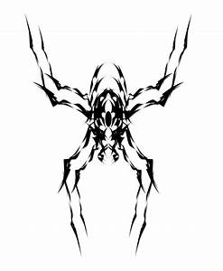 Cool Tribal Spider Drawings - ClipArt Best