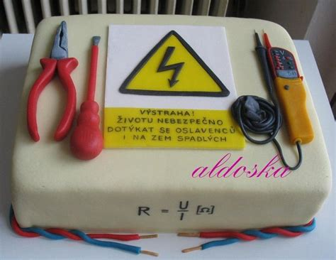 Cake For Electrician