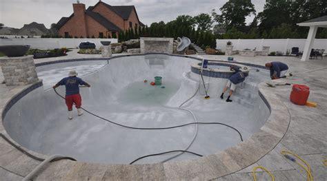 marble dusting pool finishing company  long island ny