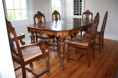 Double Pedestal Dining Room Table Sets