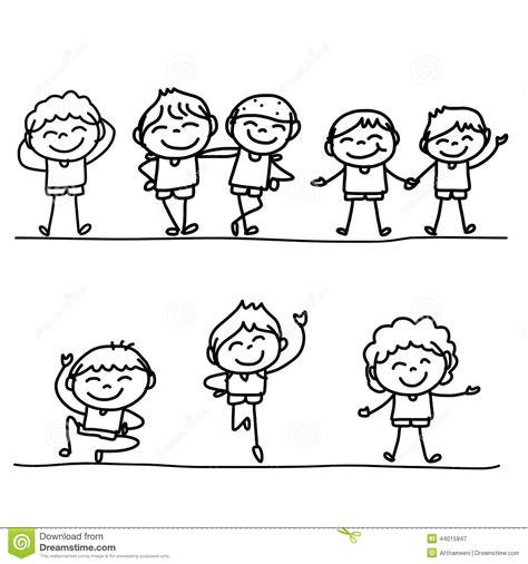 immagini bambini felici da colorare disegni da colorare di bambini felici timazighin con