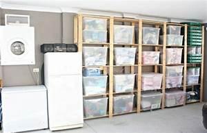idees et astuces pratiques pour le rangement garage With rangement pour le garage