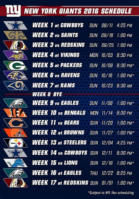 nfl releases regular season schedules