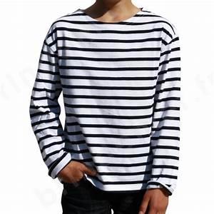 T Shirt Mariniere Homme : tee shirt ray marin enfant marini re manches longues ~ Melissatoandfro.com Idées de Décoration