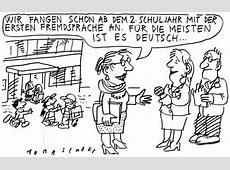 Fremdsprache By Jan Tomaschoff Politics Cartoon TOONPOOL