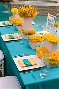 Your Wedding In Colors Aqua And Yellow Arabia Weddings