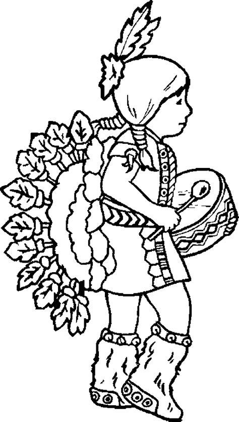 indian coloring pages  girl print coloring pages