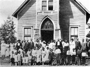 Black History African American Church