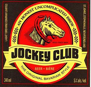 jockey club newfoundlandbeerorg With beer labelizer