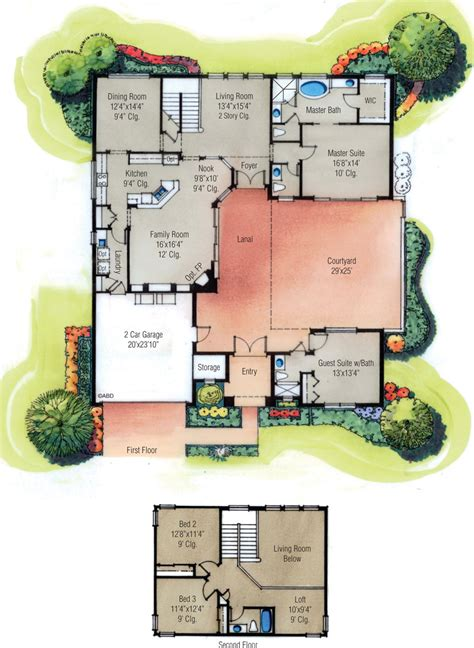home plans with courtyard floor plan with courtyard courtyard house floor plans
