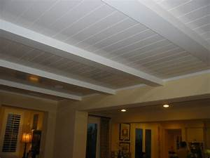 Wood Veneer Ceiling - DIY Woodworking Projects