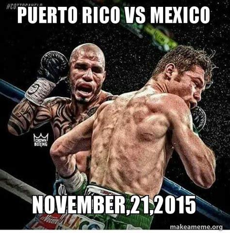 Puerto Rico Memes - puerto rico vs mexico november 21 2015 make a meme