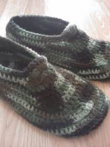 Free Crochet Pattern Men's Slippers
