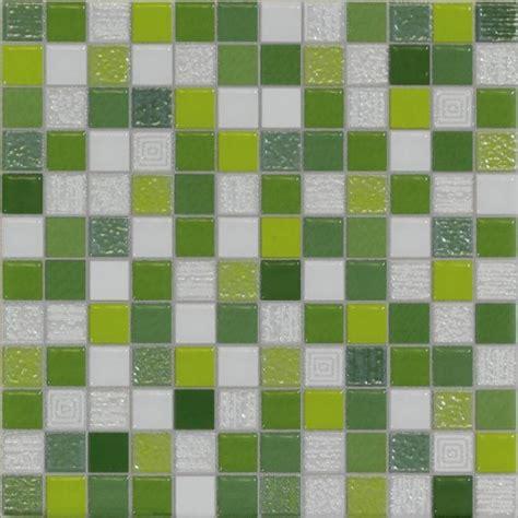 mosaique verte salle de bain carrelage mosaique vert 20x20cm carrelages parquets fr