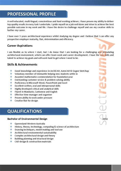 architect resume  select resumes