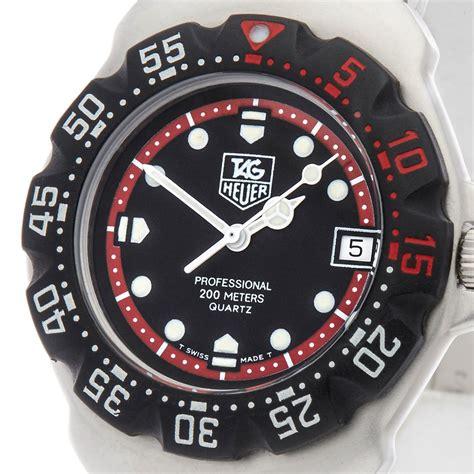 tag heuer formula 1 wa1214 1990 s com1207 second