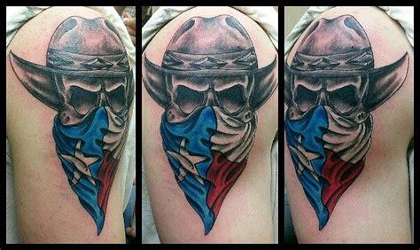 texas skull bandit  tattoo profile pinterest texas