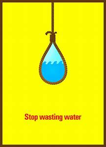 Stop Wasting Water Posoter