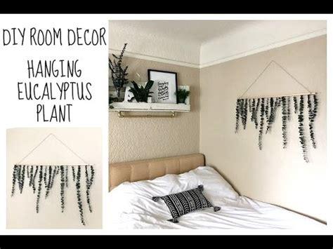diy room decor hanging eucalyptus plant tumblr